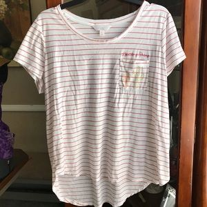 LC Lauren Conrad XL T-Shirt